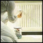 Heizkörper anstreichen, Neuanstrich von Heizkörpern