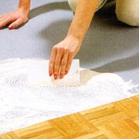 Mosaikparkett fest verkleben, Ferlegeanleitung