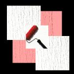 Plastischer Wandputz, Roll - oder Kellenputz