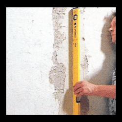 Putzprofile sind bei Putzdicken von ca. 10 mm üblich