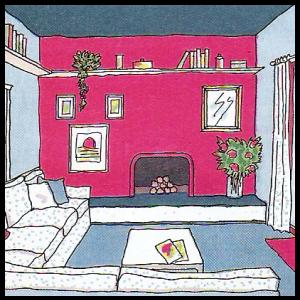 Raumwirkung, Wandfarben, Stimmung und Atmosphäre