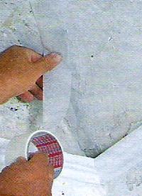 Wand und Decke Reparieren, mit den richtigen Mitteln