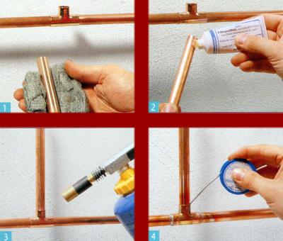 Rohrleitungen fachgerecht installieren