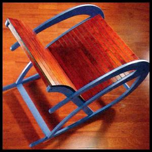 Bauplan schaukelstuhl eine einfache konstruktion for Schaukelstuhl streichen