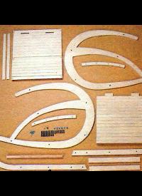 Bauplan Schaukelstuhl, eine einfache Konstruktion