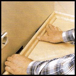 Befestigung von Sockelleisten, Montageanleitung Schritt für Schritt