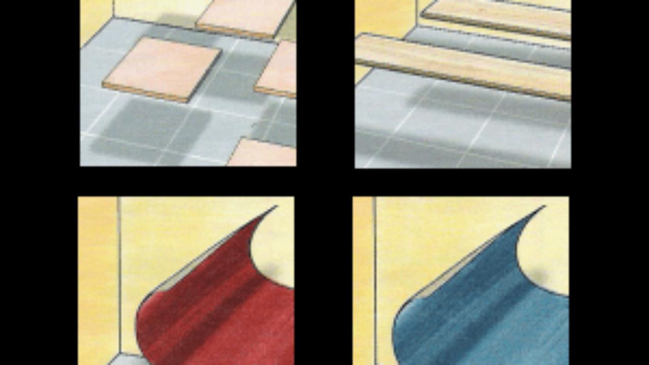 Gut gemocht Fußboden auf Fußboden verlegen UM91