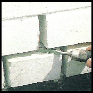 Mauerfugen nachbessern, Sichtbar ist oft nur der Anfang