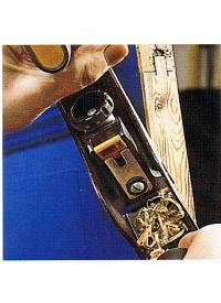 Türblatt kürzen, Eine Tür richtig absägen