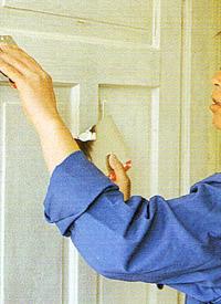 Lackieren von Kassettentüren, die richige Methode