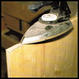 Aufleimer und Umleimer für Tischlerplatten, Spanplatten
