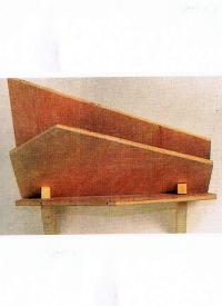 Bauplan Zeitungsständer, Ein Zeitungsständer aus Holz